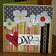 Love card with April kit