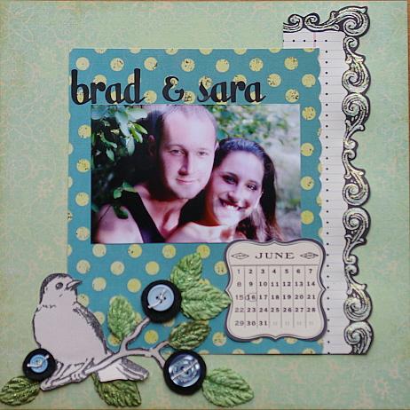 Brad and sara